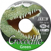 Леска Jaxon Crocodile Green 150m 0.14mm\4kg